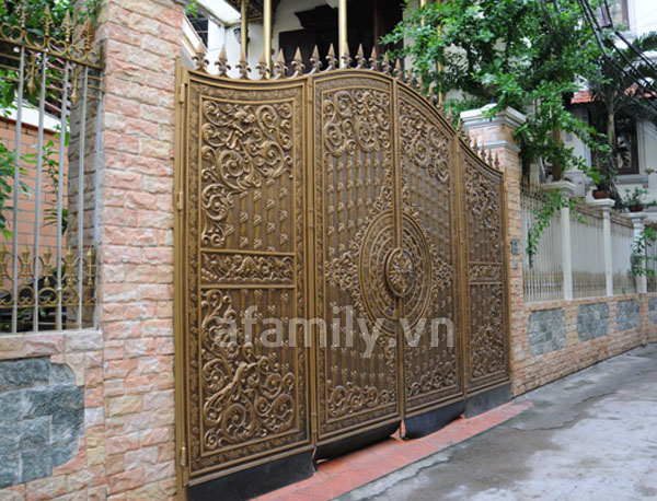 Những mẫu cổng sang cho nhà đẹp | ảnh 8