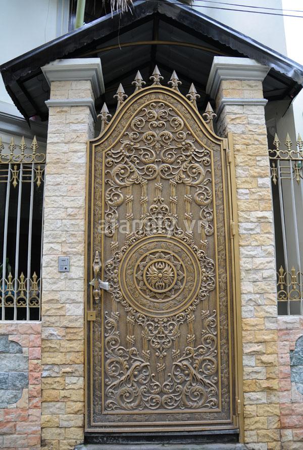 Những mẫu cổng sang cho nhà đẹp | ảnh 9