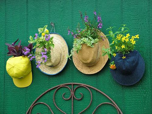Làm đẹp khu vườn bằng những vật dụng cũ | ảnh 15