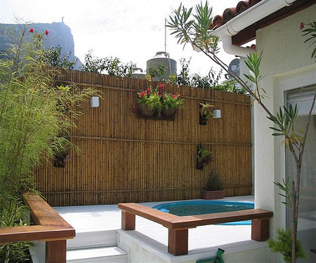 Dùng tre, trúc làm đẹp sân vườn | ảnh 7