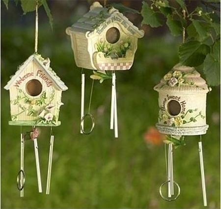 Dùng chuồng chim để...trang trí sân vườn | ảnh 8