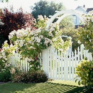 Ngôi nhà phong cách đồng quê với cổng gỗ | ảnh 1