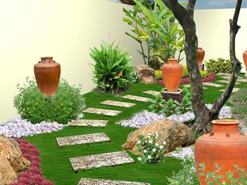 Bí quyết chọn vật dụng sân vườn hợp phong thủy | ảnh 1