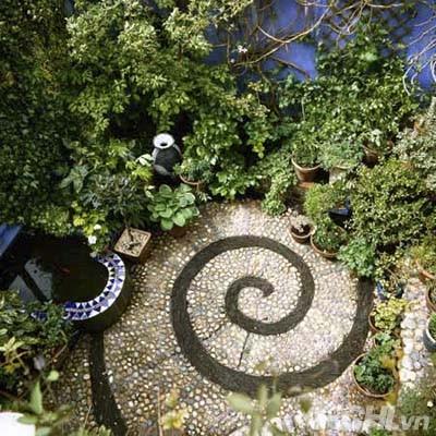 Vườn đẹp như tranh với phong cách mosaic | ảnh 3