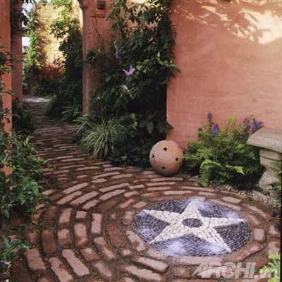 Vườn đẹp như tranh với phong cách mosaic | ảnh 4