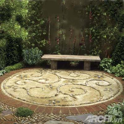 Vườn đẹp như tranh với phong cách mosaic | ảnh 8