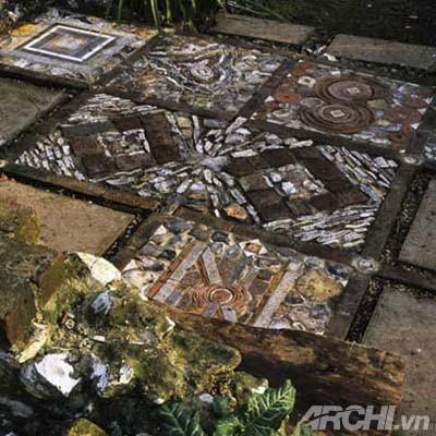 Vườn đẹp như tranh với phong cách mosaic | ảnh 6