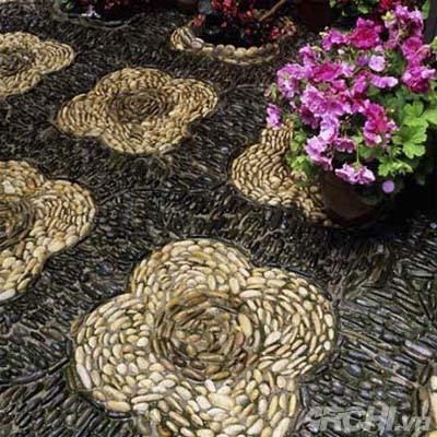Vườn đẹp như tranh với phong cách mosaic | ảnh 7