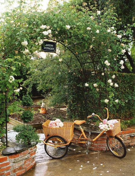 Cổng hoa rực rỡ đón khách vào nhà | ảnh 2