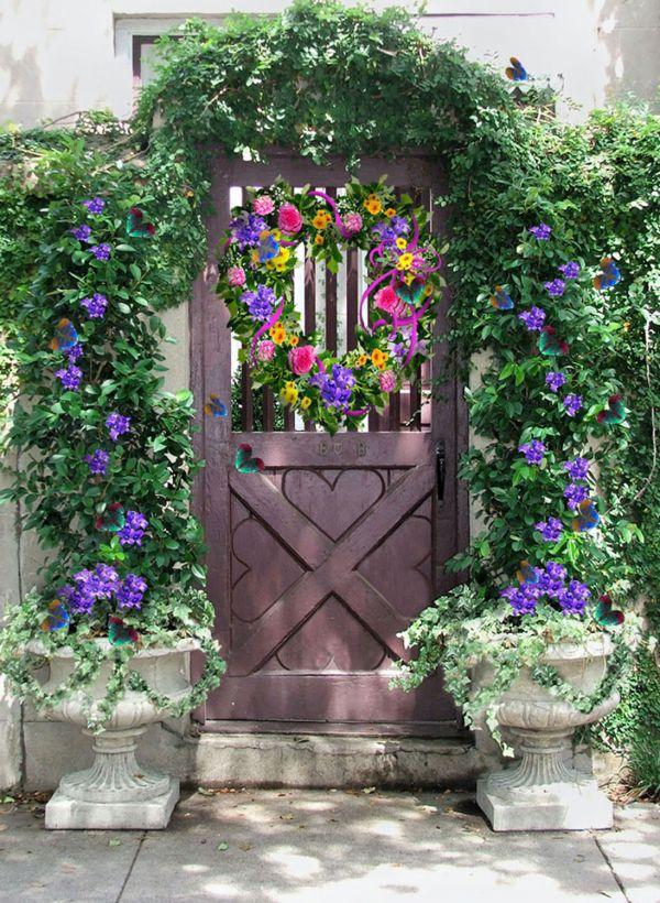 Cổng hoa rực rỡ đón khách vào nhà | ảnh 4