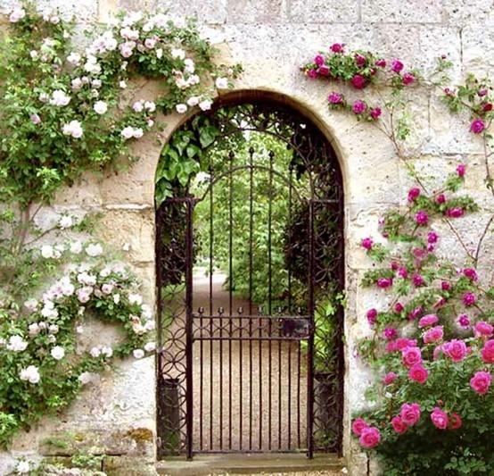 Cổng hoa rực rỡ đón khách vào nhà | ảnh 9