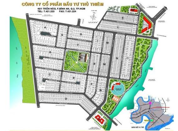 Hạ tầng, quy hoạch của Khu Dân cư Thủ Thiêm Villa | ảnh 1