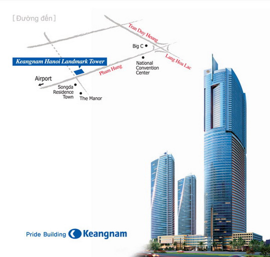 Hạ tầng, quy hoạch của Keangnam Hanoi Landmark Tower | ảnh 1