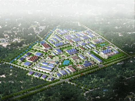 Tổng quan của Khu công nghiệp Thạch Thất - Quốc Oai, Hà Nội | 1